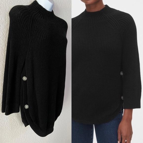 Gap maternity nursing mock neck sweater size S